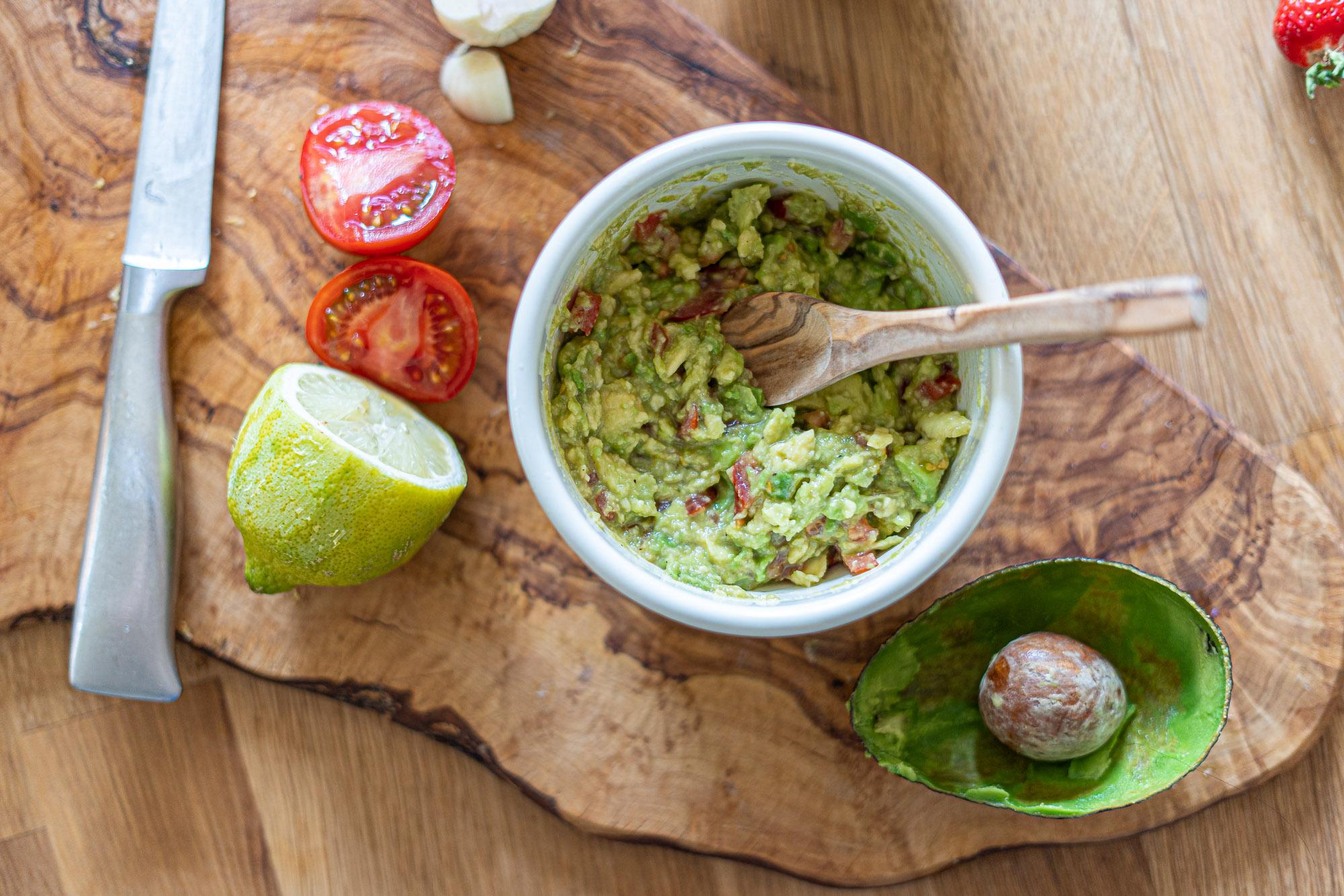 Guacamole Rezept - alle Zutaten